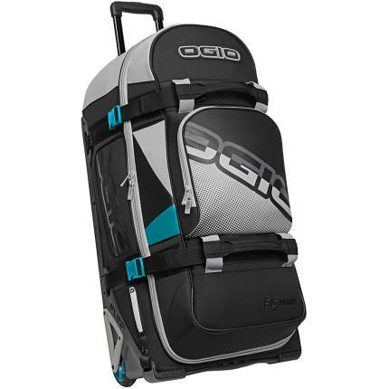 OGIO GEAR BAG - RIG 9800 (WHEELED) Teal Block