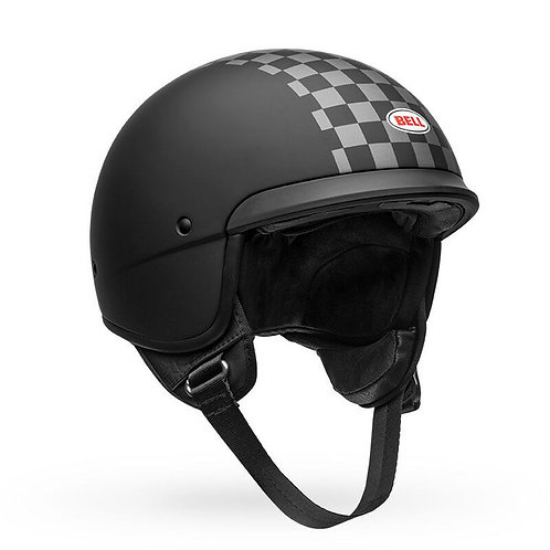 BELL SCOUT AIR - CHECK MATTE BLACK