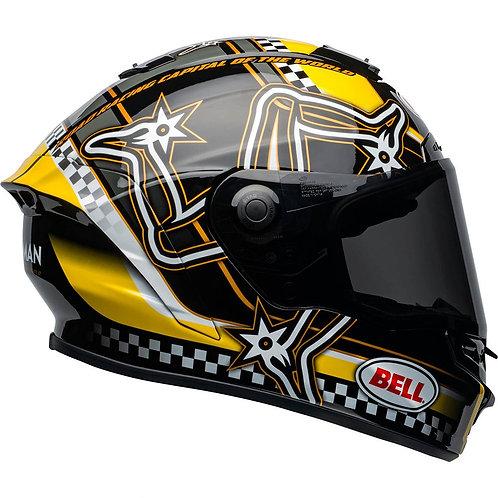 BELL STAR MIPS ISLE OF MAN  - Black Yellow
