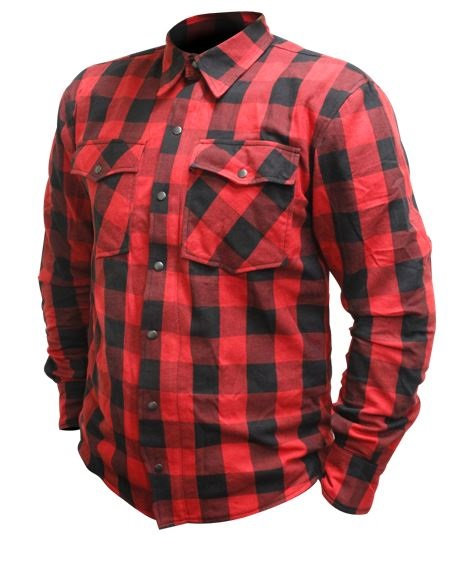 RJAYS REGIMENT SHIRT - Red and Black