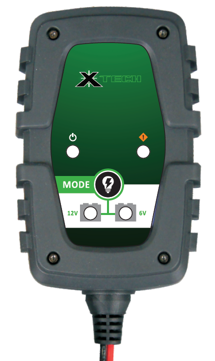 X TECH BATTERY CHARGER 1 amp 6V/12V (WAS XTMBC001)
