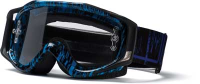 SMITH FUEL V.2 SWEAT-X 11 CYAN/BLK RISE AND FALL--CLEAR AFC LENS INCL ROLL-OFFS