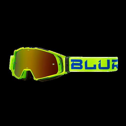 BLUR B-20 GOG FLAT - HI-VZ/BLU RAD-RED