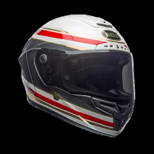 Bell Racestar LT RSD Formula White Red