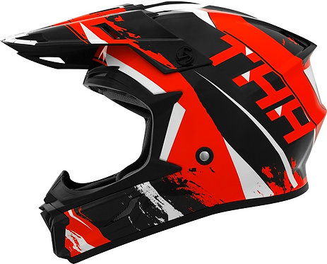 THH Youth T710X Rage Black Red