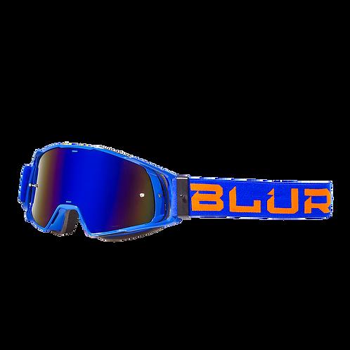 BLUR B-20 GOG FLAT - BLU/ORG RAD-BLU ADULT