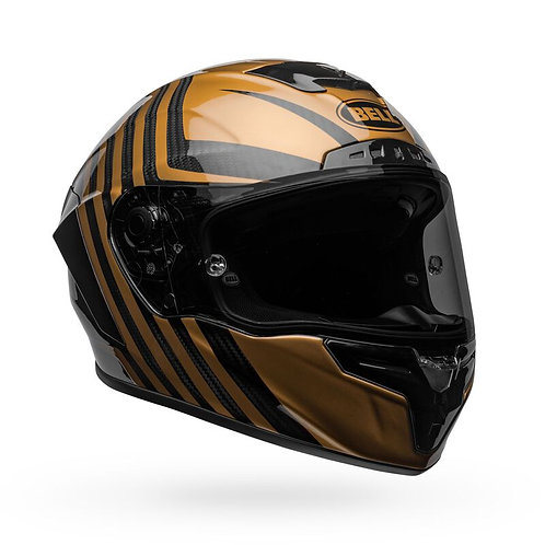 Bell 2020 Racestar DLX Special Edition Gloss Black and Gold Helmet