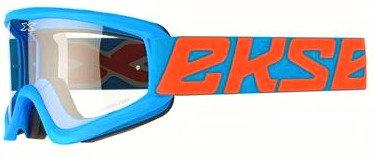 EKS GOG - GOX F/O CYAN BLUE (CLR LENS)