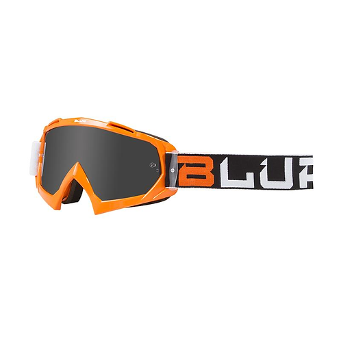 BLUR B-10 ADULT TWO FACE ORG/BLK/WHT (SILV LENS)