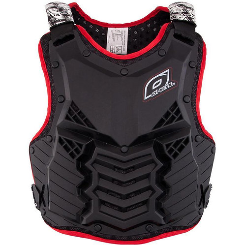 ONEAL HOLESHOT - BLACK/RED ADULT ARMOUR