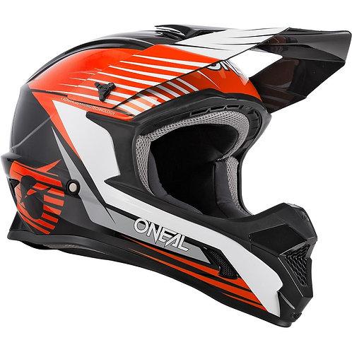 ONEAL 2021 1 Series Helmet - Black Orange YOUTH