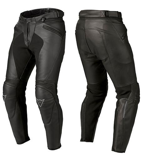 Dainese Ladies - Spartan 66 Pelle Pants - Black