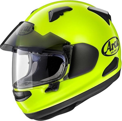 Arai QV-Pro Plain Fluro Yellow