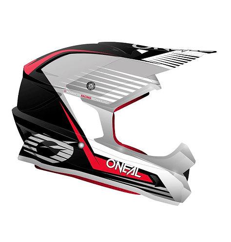 ONEAL 2021 1 Series Helmet - Black Red