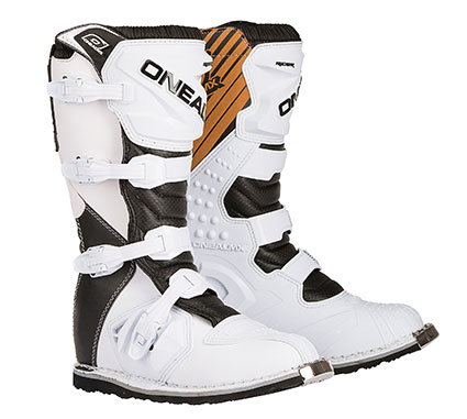 ONEAL20 RIDER BOOTS WHT/BLK