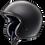 Thumbnail: Arai Freeway - Rubberised Matt Black No Studs