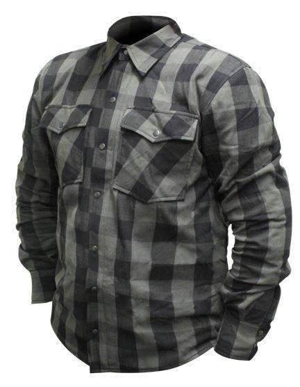 RJAYS REGIMENT SHIRT - Black and Grey