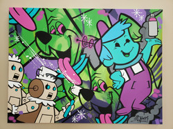 Jetsons Pop Art