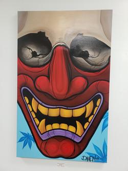 Hannya Mask Skull