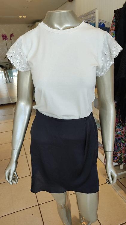 Blusa manga renda (M)