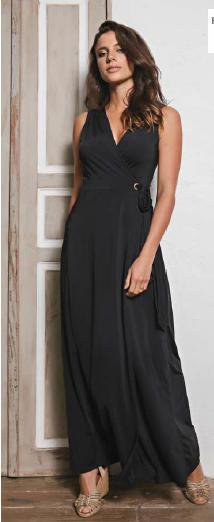 Vestido Envelope Preto (M)