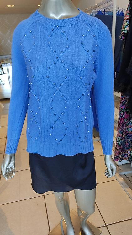 Blusa Pérola Azul (U)