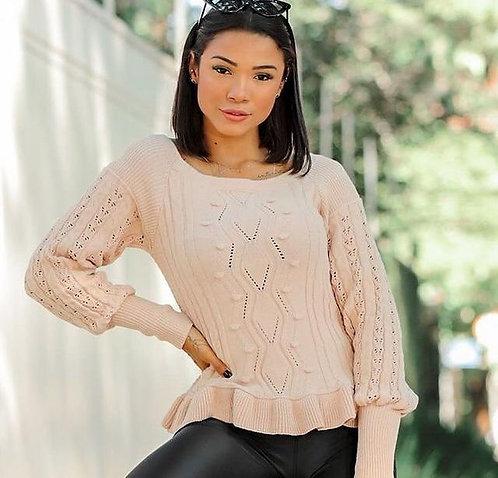 Blusa tricô (M)
