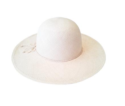 Chapéu de palha aba média
