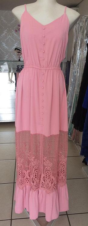 Vestido de alcinha e botões (P)