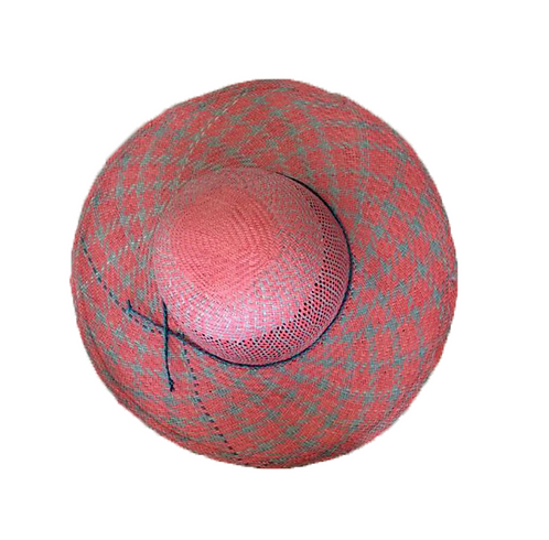 Chapéu aba média duas cores