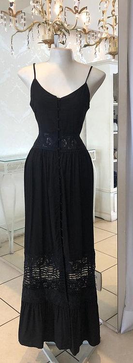 Vestido alcinha detalhe renda (M, G)