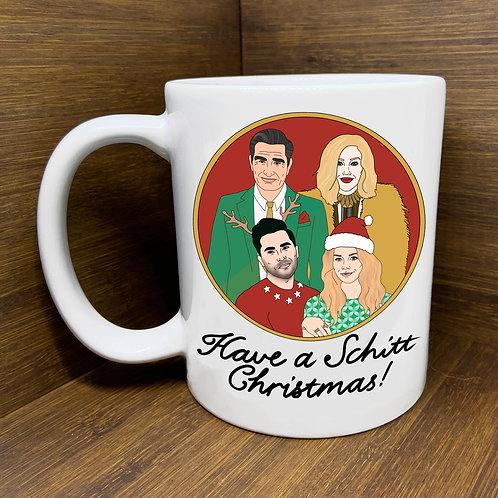 Schitt Christmas Mug