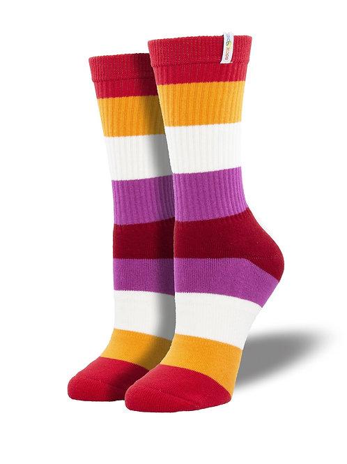 Lesbian Pride Socks