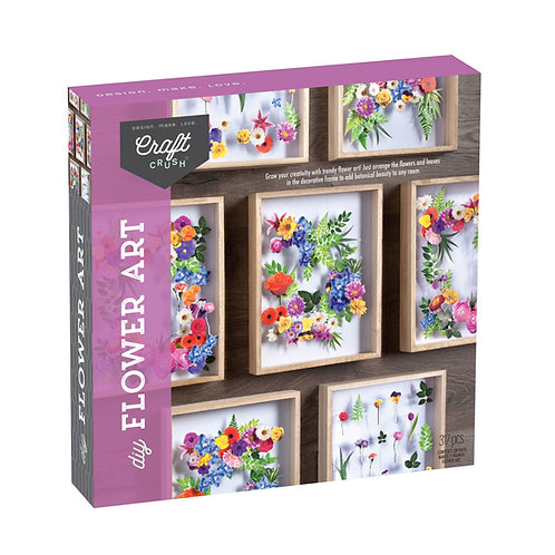 Craft Crush DIY Flower Art Kit