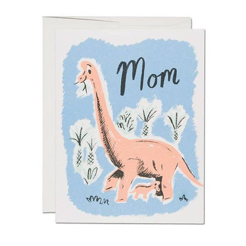 Dinosaur Mom Card