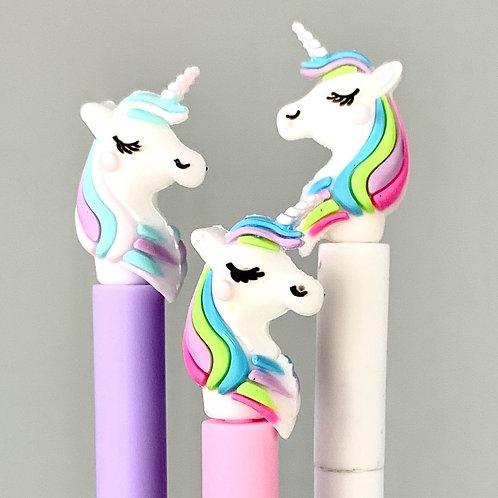 Rainbow Unicorn Gel Pen