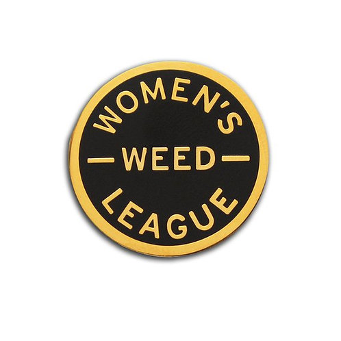 Women's Weed League Enamel Pin