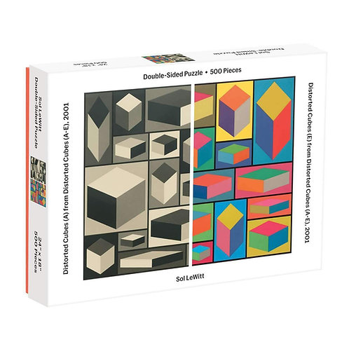 MoMA Sol Lewitt Double-Sided Puzzle