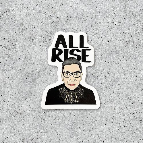 RBG All Rise Sticker