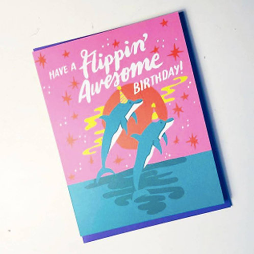 Flippin' Awesome Birthday Card