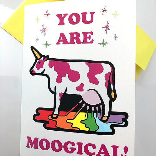 You Are Moogical! Card