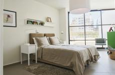 חדר שינה בדיור המוגן