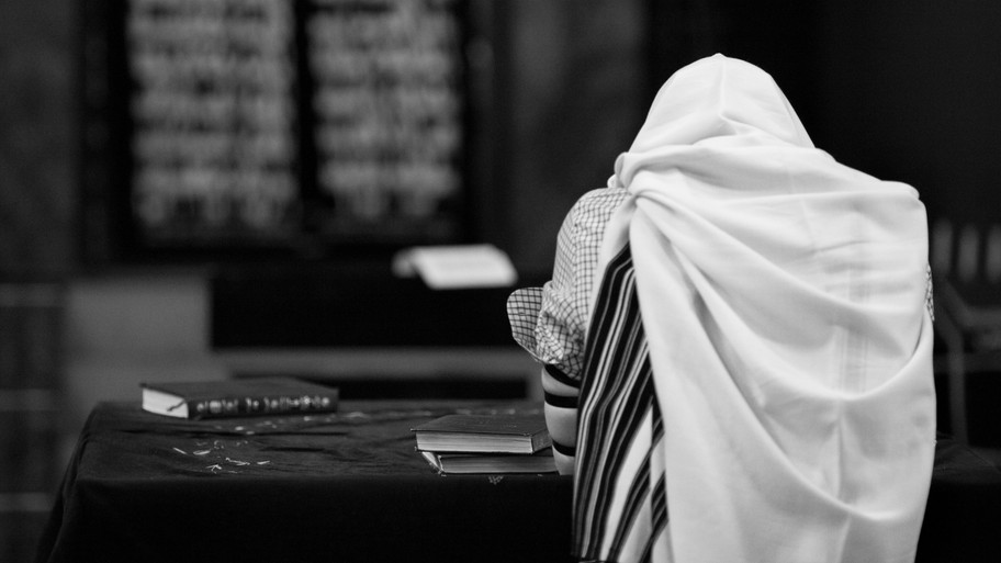 תפילה בבית כנסת
