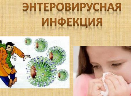 Профилактика энтеровирусной инфекции!