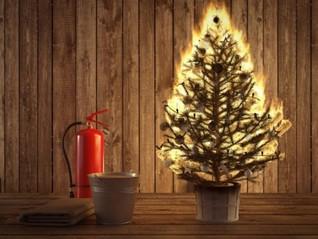 Соблюдение правил пожарной безопасности в новый год