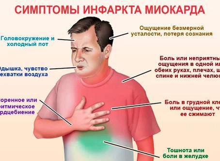 Сердечный приступ при инфаркте миокарда
