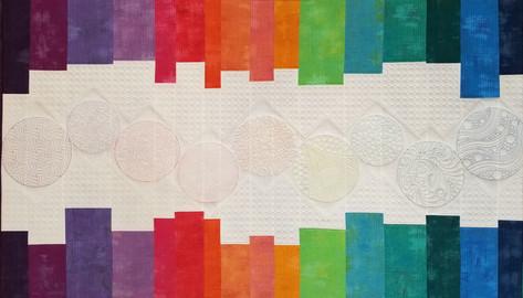 Original quilt, digital designs.