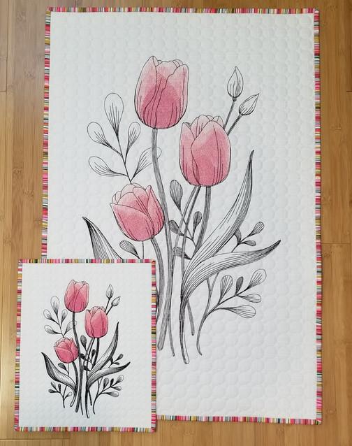 Longarm Embroidery