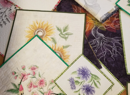 Long Arm Embroidery,  part 1, the Pretty