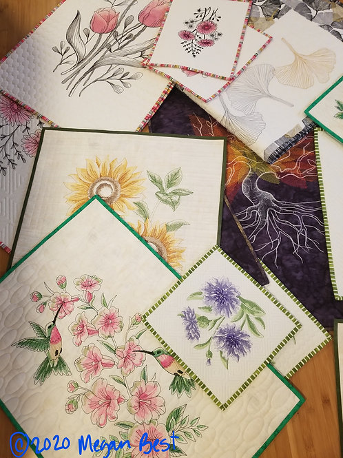 Virtual Embroidery Class (no PDF file!)